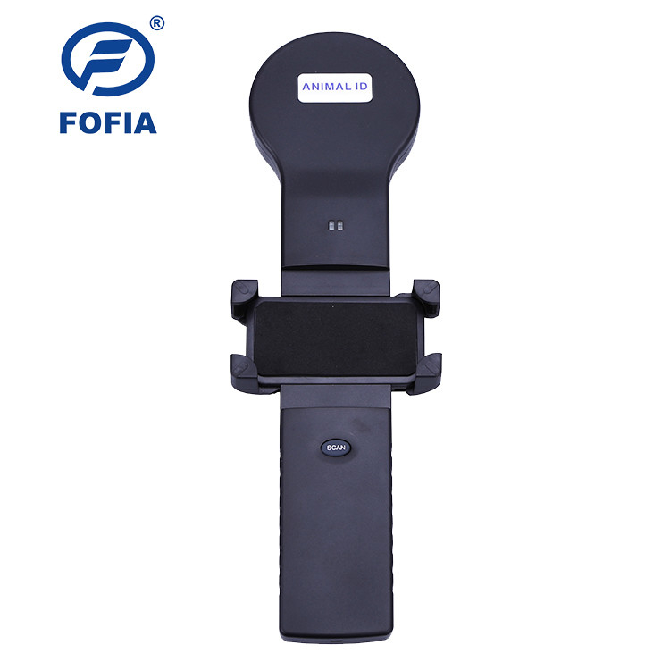 Android And IOS Support Animal Chip Reader ISO11784/5 FDX - B And HDX Lithium Battery